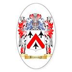 Brannagh Sticker (Oval 10 pk)