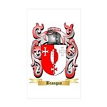 Brangan Sticker (Rectangle 50 pk)