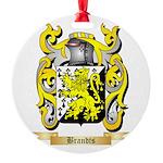 Brandts Round Ornament