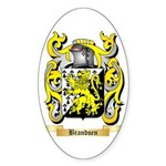 Brandsen Sticker (Oval)