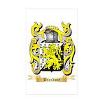 Brandone Sticker (Rectangle 50 pk)