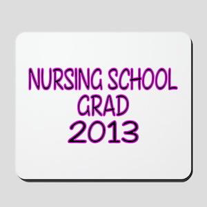 2013 NURSING SCHOOL copy Mousepad