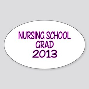 2013 NURSING SCHOOL copy Sticker