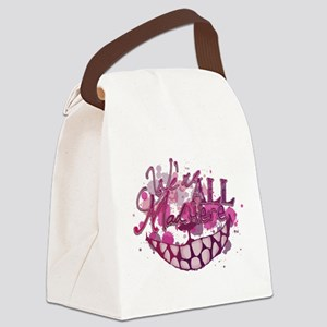 All Mad Here Canvas Lunch Bag