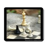 Game - Chess Pieces - Digital Photography Mousepad