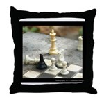 Game - Chess Pieces - Digital Photography Throw Pi