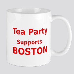 Tea Party Supports Boston Mug