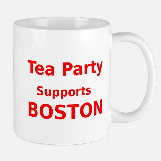 Tea Party Supports Boston Mug