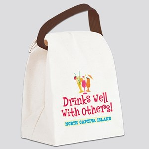North Captiva-Drinks Well Canvas Lunch Bag