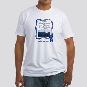 Mt. Whitney Fitted T-Shirt