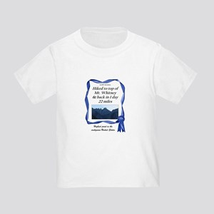 Mt. Whitney Toddler T-Shirt