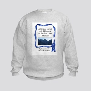 Mt. Whitney Kids Sweatshirt