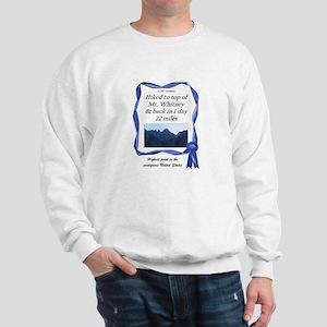 Mt. Whitney Sweatshirt
