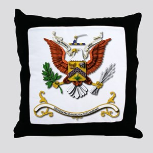 7th Cavalry Regiment Throw Pillow