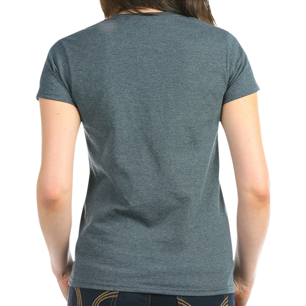 CafePress-Retired-Navy-Women-039-s-Dark-T-Shirt-Women-039-s-Cotton-T-Shirt-84039679 thumbnail 25