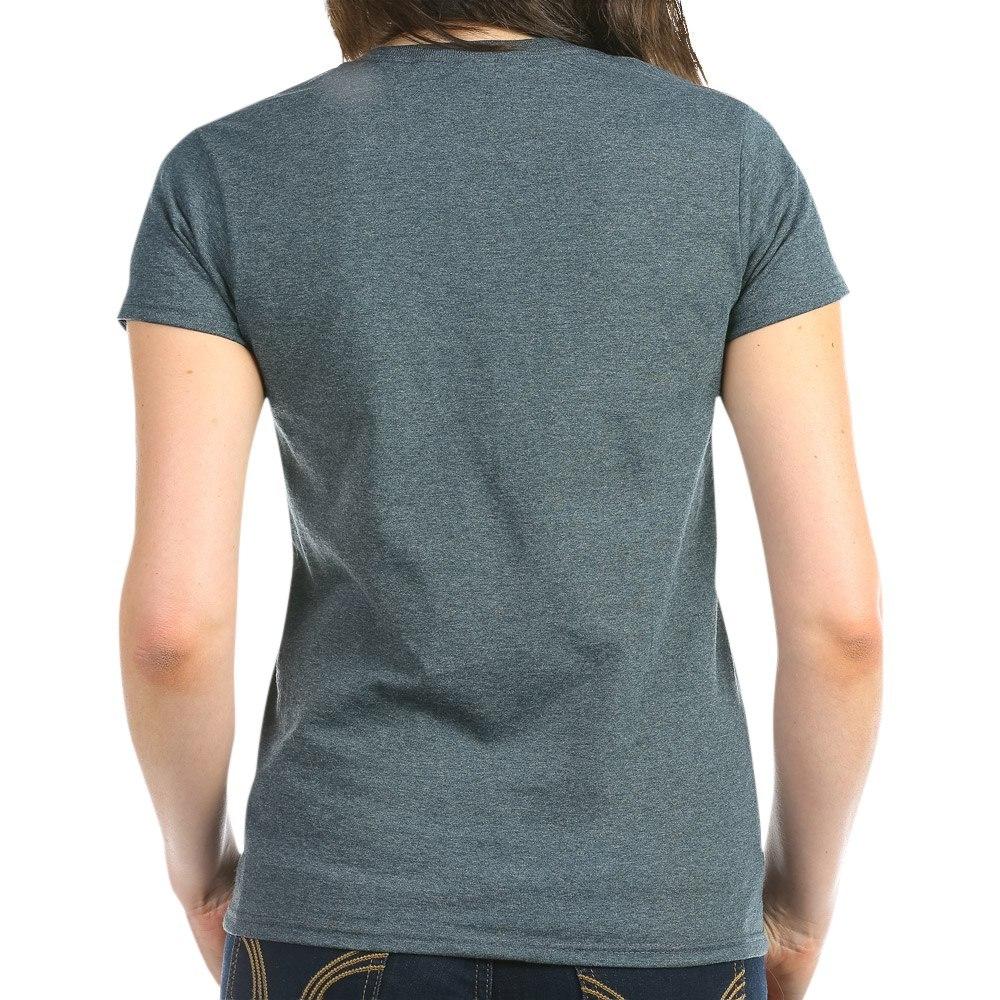 CafePress-Retired-Navy-Women-039-s-Dark-T-Shirt-Women-039-s-Cotton-T-Shirt-84039679 thumbnail 30