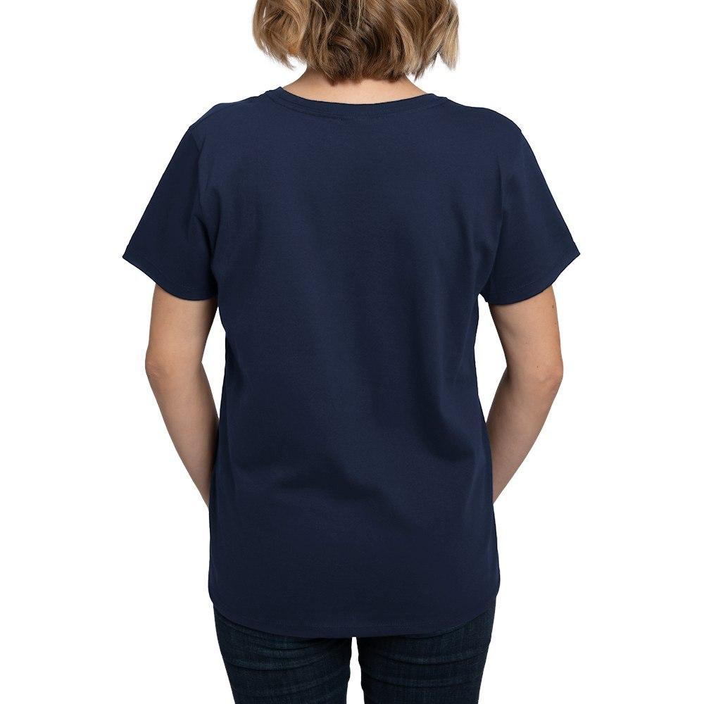 CafePress-Retired-Navy-Women-039-s-Dark-T-Shirt-Women-039-s-Cotton-T-Shirt-84039679 thumbnail 45