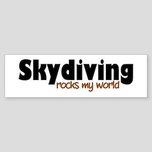 'Skydiving' Sticker (Bumper)
