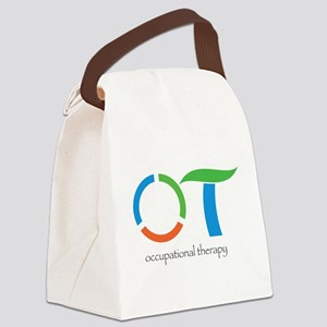 Circle OOT Canvas Lunch Bag