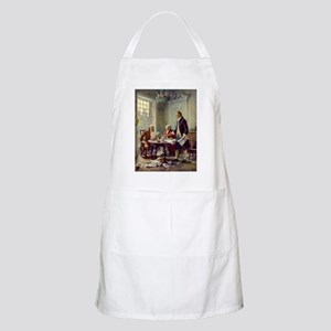 Declaration of Independence 1776 Apron
