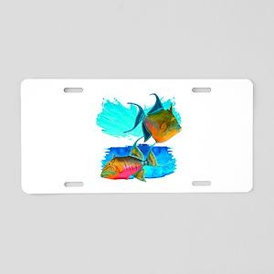 REEF CRUISER Aluminum License Plate