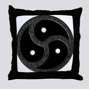 BDSM EMBLEM - Symbol Throw Pillow