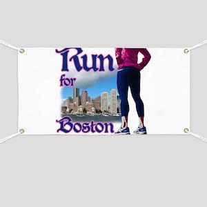 Run for Boston, MA Banner