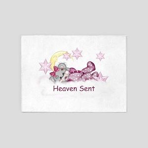 Heaven Sent! 5'x7'Area Rug