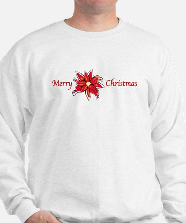 Holiday Poinsettia Sweatshirt