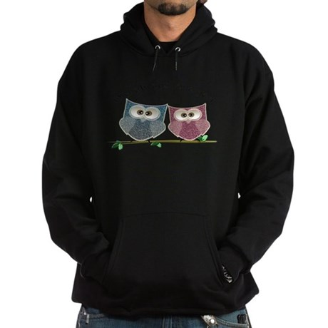 Owl always love cut cute Owls Art Hoodie