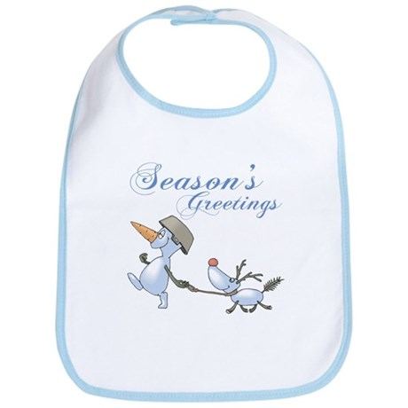 Seasons Greetings Bib