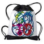 GMTS Logo in Color Drawstring Bag