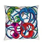 GMTS Logo in Color Everyday Pillow