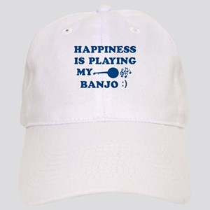 Banjo Vector Designs Cap