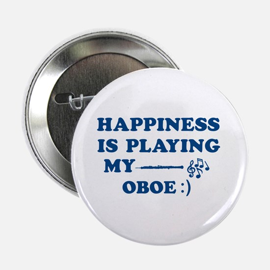 """Oboe Vector Designs 2.25"""" Button"""