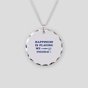 Piccolo Vector Designs Necklace Circle Charm