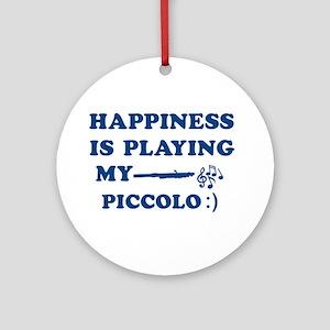 Piccolo Vector Designs Ornament (Round)