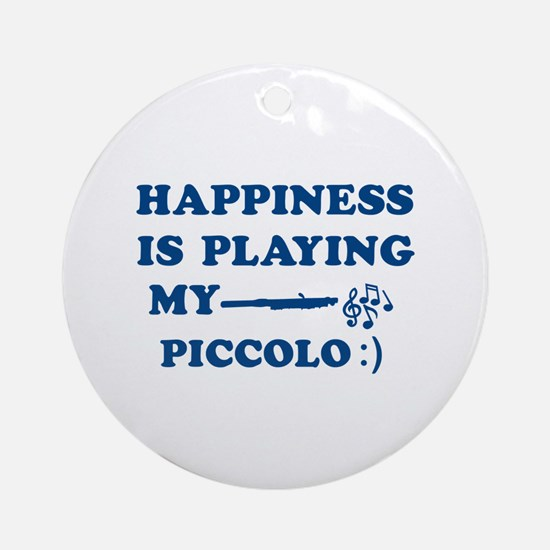 Piccolo Vector Designs Ornament (Round)