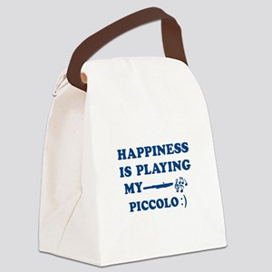 Piccolo Vector Designs Canvas Lunch Bag
