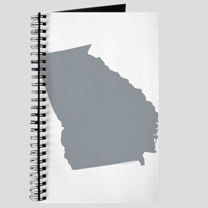 Georgia State Shape Outline Journal