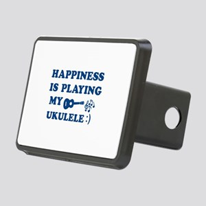 Ukulele Vector Designs Rectangular Hitch Cover