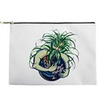 Green Man Cradling Earth Makeup Pouch