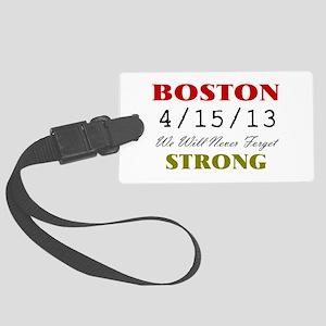 BOSTON STRONG 2 Luggage Tag