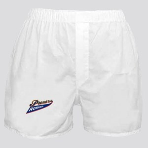 Proud to be Belarusian Boxer Shorts