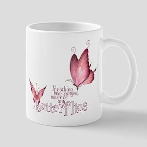 Pink Butterfly Mug