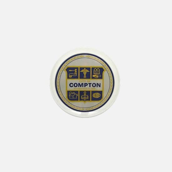 City of Compton Mini Button