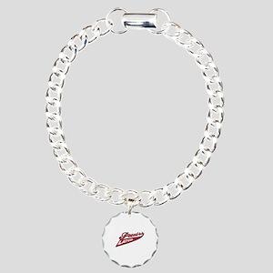 Proud to be Latvian Charm Bracelet, One Charm