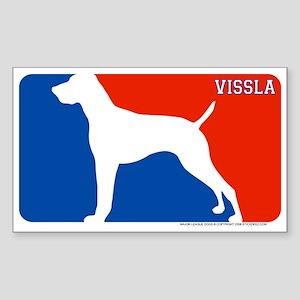 """Vissla"" MLD Rectangle Sticker"