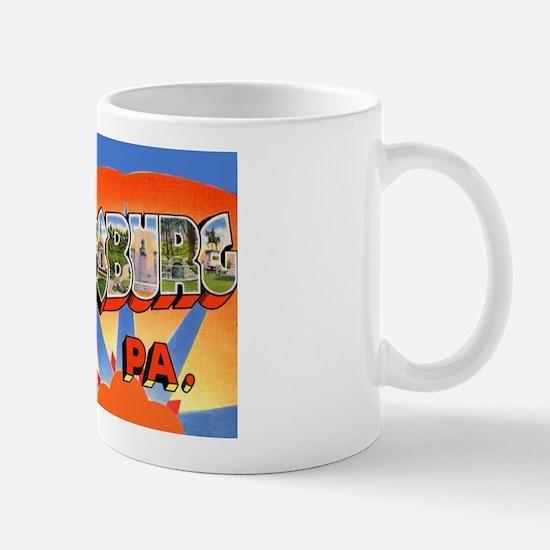 Gettysburg Pennsylvania Greetings Mug