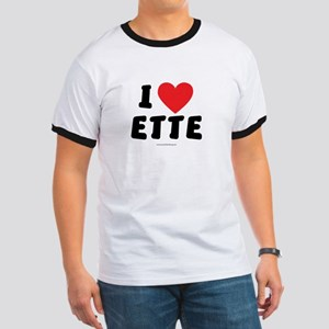 I Love ETTE - LDS Clothing - LDS T-Shirts T-Shirt